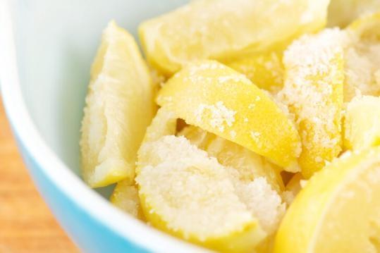 Biber, tuz ve limon! Mucize bir tedavi için. galerisi resim 2