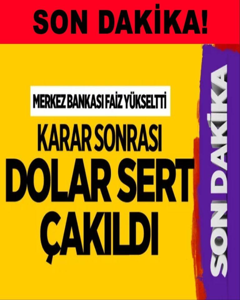 Merkez Bankası'nın verdiği faiz kararı sonrası dolar sert çakıldı galerisi resim 1