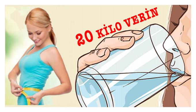 Bu Yöntemle Sağlıklı ve Hızlı Bir Şekilde 20 Kilo Verin