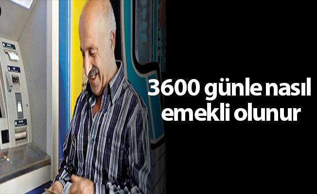 3600 Günle Nasıl emekli Olunur?