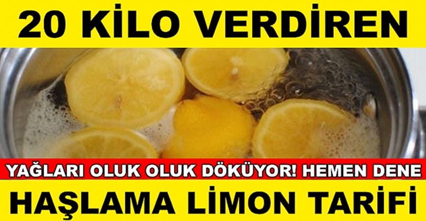 1 Ayda 20 Kilo Verdiren Mucize Limon Diyeti