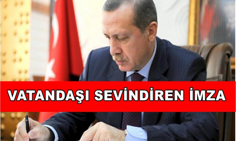 Başkan Erdoğan'dan Vatandaşı Sevince Boğan İmza
