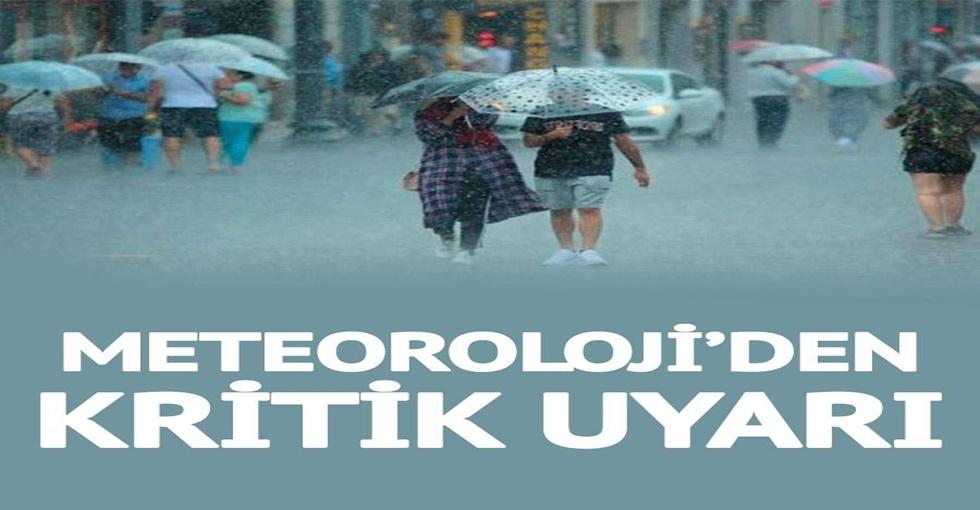 SON DAKİKA   Meteoroloji'den uyarı geldi! Dışarı çıkma planı yapanlar dikkat
