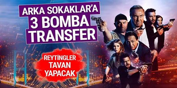 ARKA SOKAKLAR'A 3 YENİ TRANSFER!
