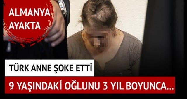 Avrupa bu Türk Annenin Rezilliğini Konuşuyor . 9 Yaşındaki Oğlunu 3 Yıl Boyunca