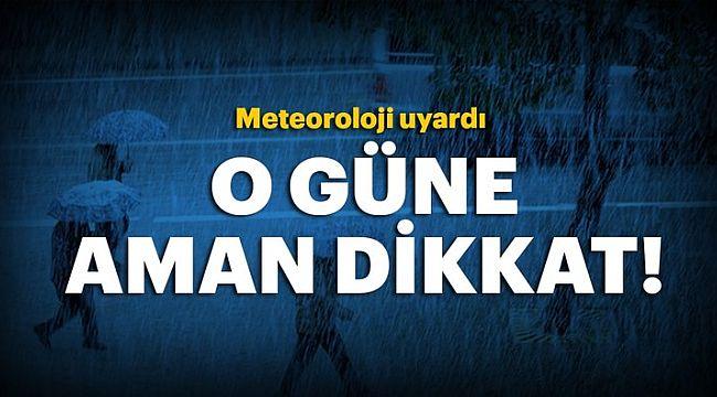 Meteoroloji'den çok sayıda ilimiz için acil durum uyarısı....