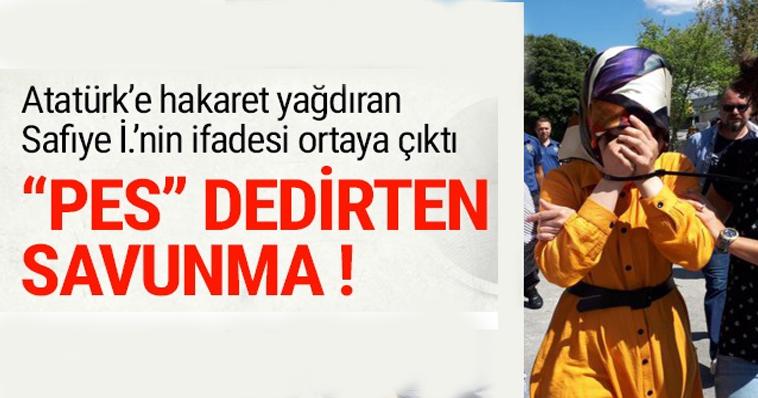 SAFİYE'NİN SAVUNMASI PESS DEDİRTTİ