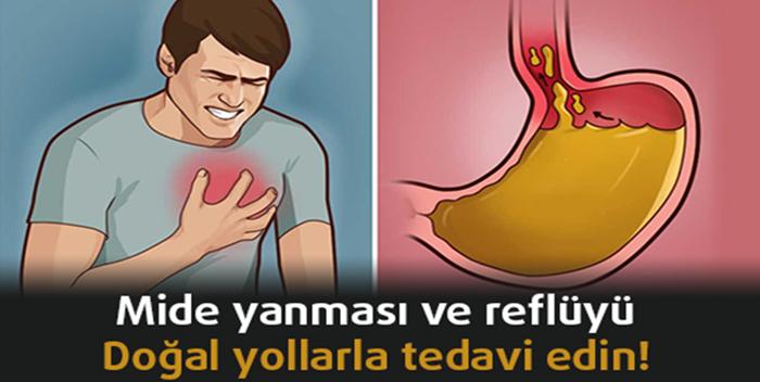 MİDE YANMASI VE REFLÜYÜ DOĞAL YOLLARLA TEDAVİ EDİN!...