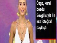 Özge Ulusoy, sevgilisiyle fotoğrafını paylaştı